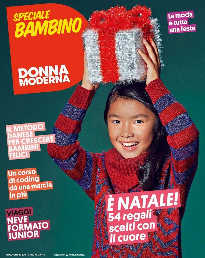 Cover_71_DonnaModerna_Bambino_29nov_pag28